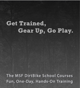Get Trained, Gear Up, Go Play.